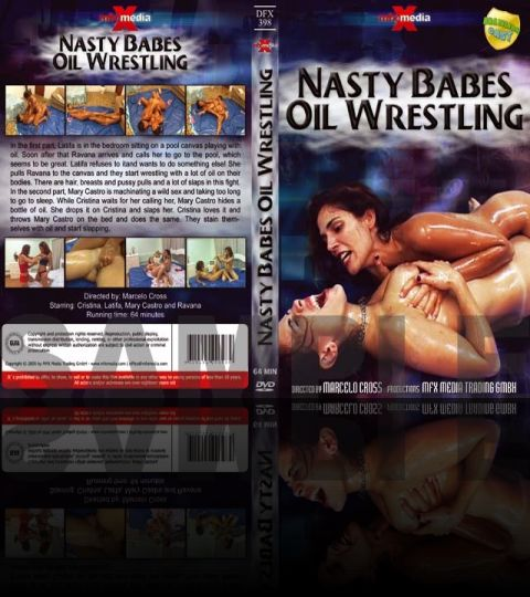 Nasty Babes Oil Wrestling