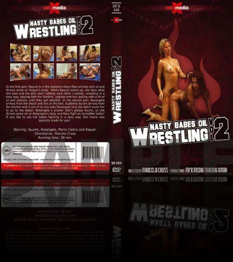 Nasty Babes Oil Wrestling - VOL. 2