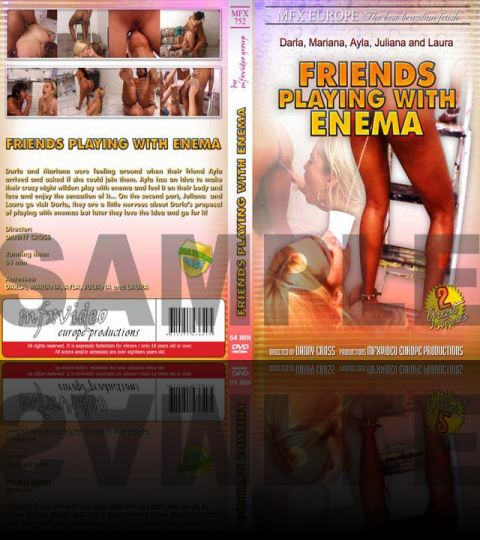 Friends Playing with Enema