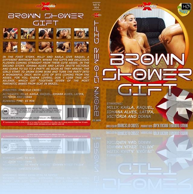 Brown Shower Gift - HD