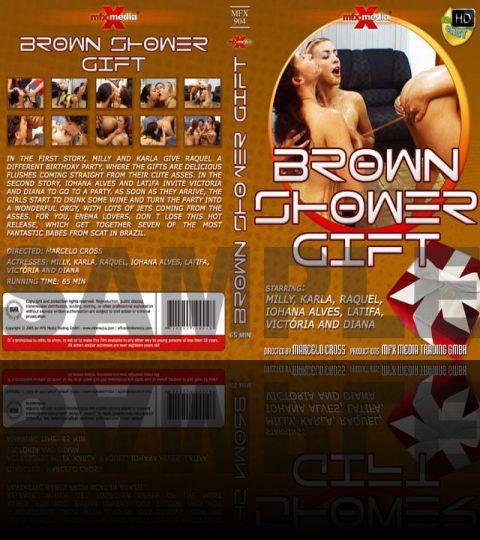 Brown Shower Gift - HD