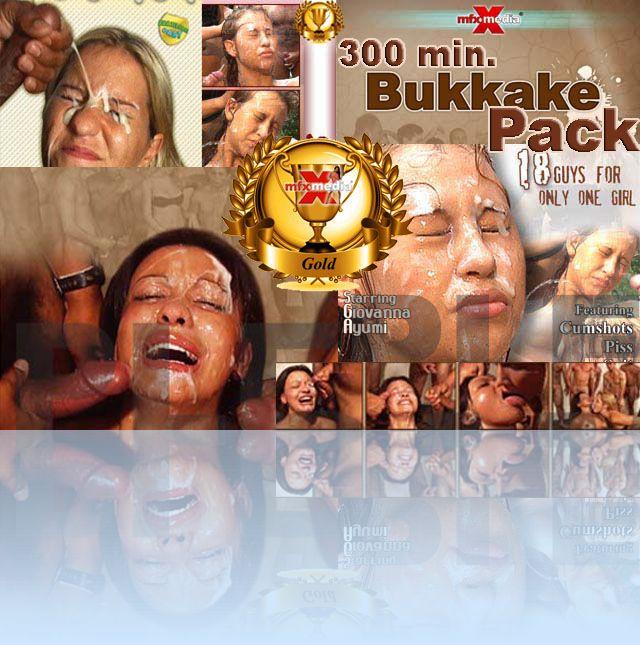 MFX BUKAKKE GOLD-PACK - 300 min. HD