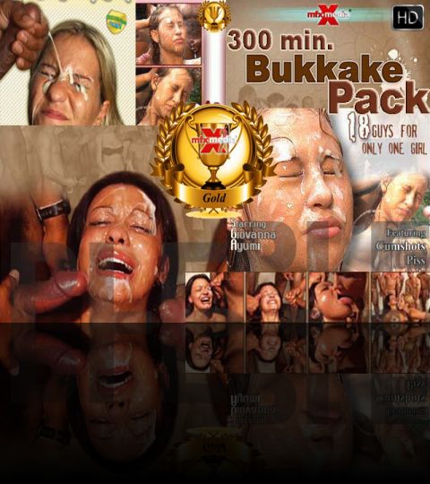 MFX BUKAKKE GOLD-PACK - 300 min. HD