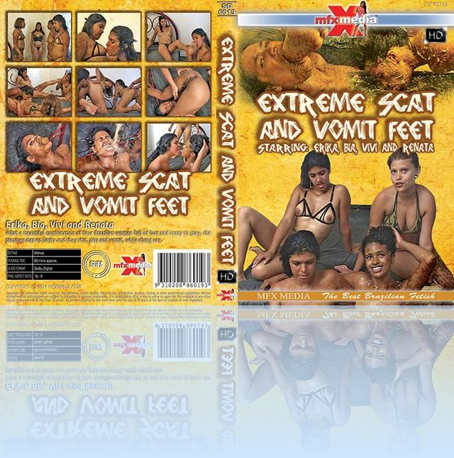 Extreme Scat and Vomit Feet - HD - NEW