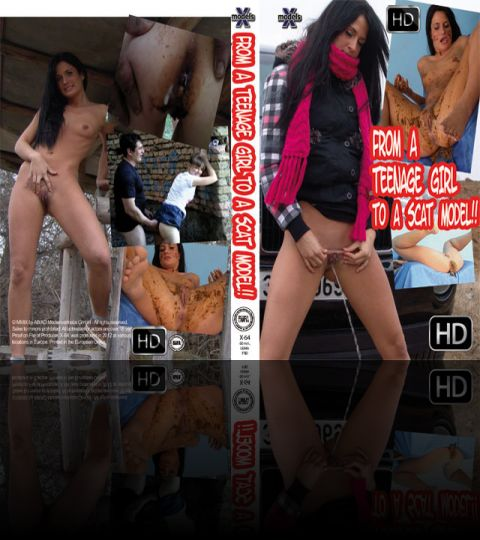 From a Teenage Girl to a Scat Model - NEW - HD